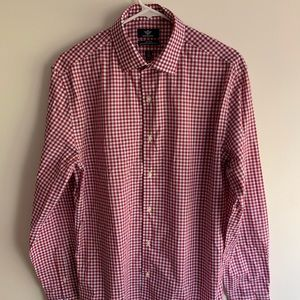 Dockers Red Checked Button Down